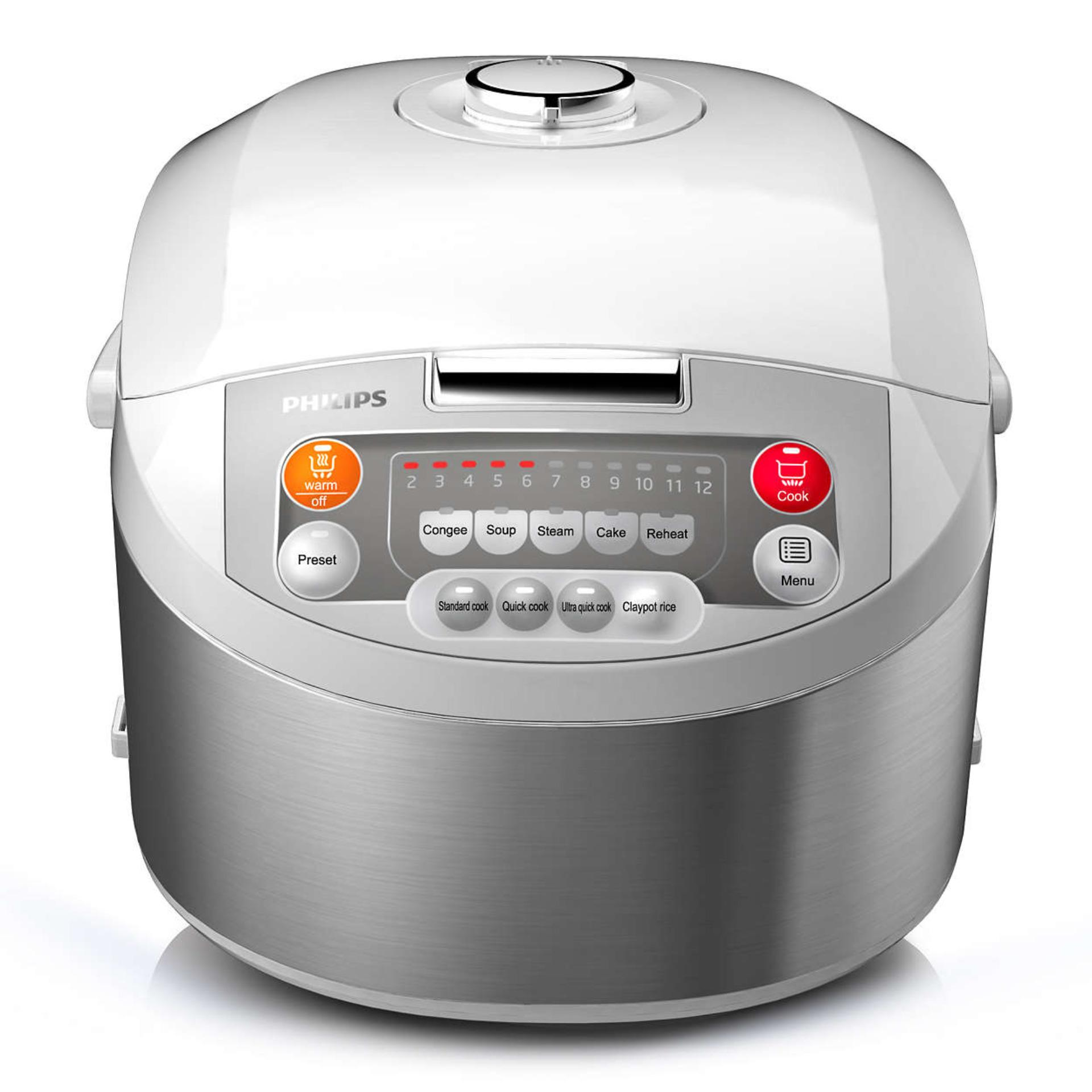 Philips Fuzzy Logic Rice Cooker / Penanak Nasi Pintar HD3038