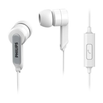 Philips In-Ear Headphone with Mic SHE1405 - White