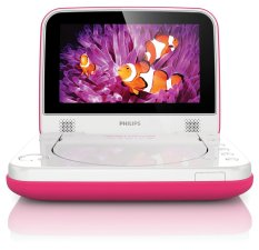 Philips PD7006P DVD Player Portable - Pink