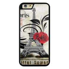 Phone case for iPhone 6/6s Symbols city Eiffel Tower flower rose cover for Apple iPhone 6 / 6s - intl