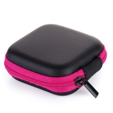 Phone Charger Data Cable Storage Bag Mini Portable Anti-pressure Headset Square Storage Box