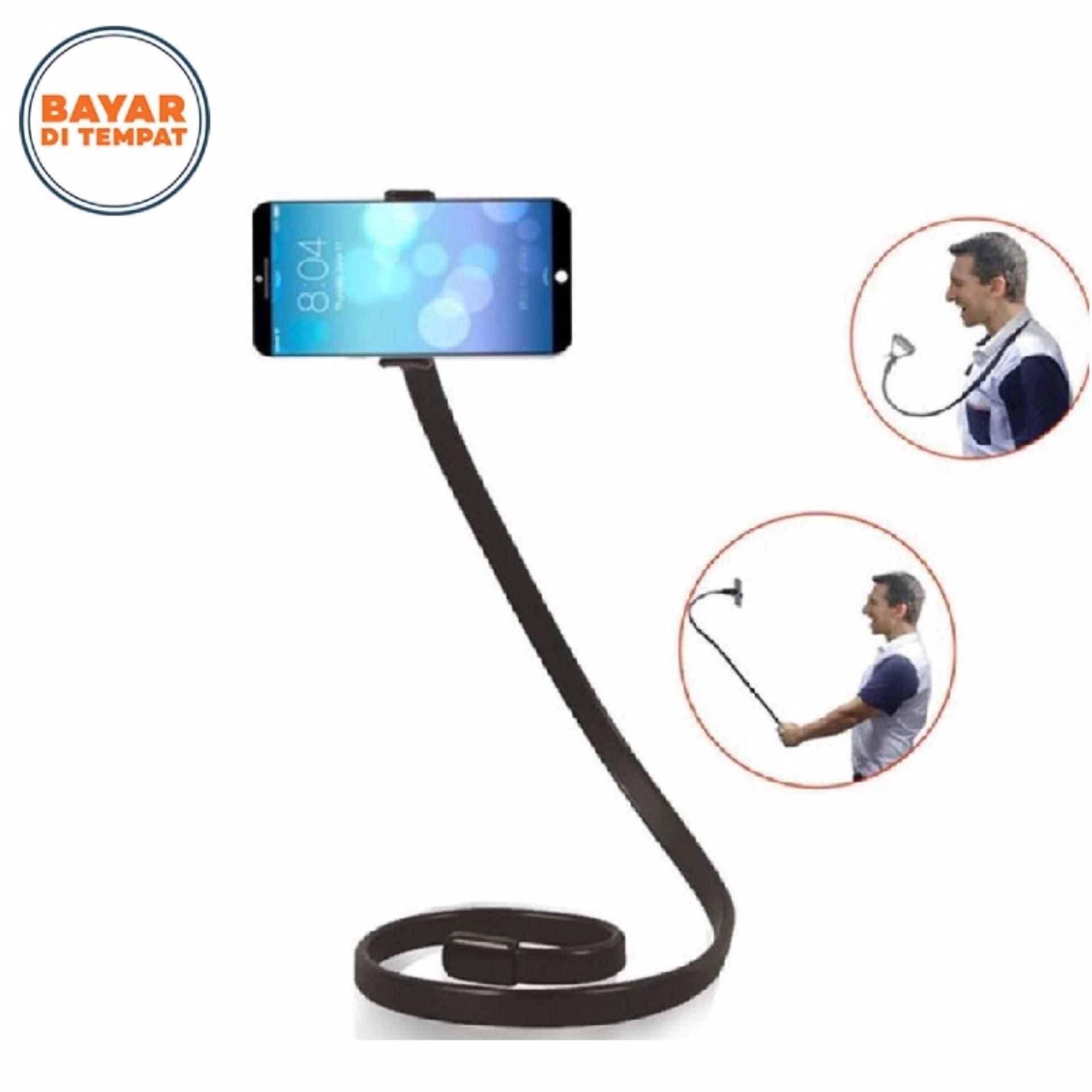Discount Phoseat Lazypod Flexible Universal Cool Design Rotating Phone Clip Holder 6CM Clamp beli sekarang -