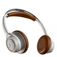 Plantronics Blueto Plantronics Bluetooth Headphone Backbeat Sense - White Tan