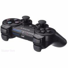 PlayStation 3 Dualshock 3 Wireless Controller Stik Sony Stik Wireless Ori Pabrik PS3 (Black)