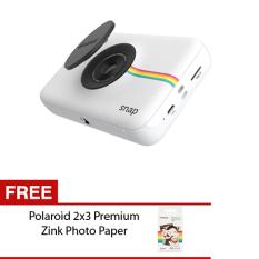 Polaroid Snap Kamera Pocket - 10MP - Putih + Gratis Polaroid Photo Paper