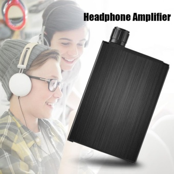 Portable Mini Stereo Audio HiFi Headphone Amplifier Digital Amp 200mW - intl
