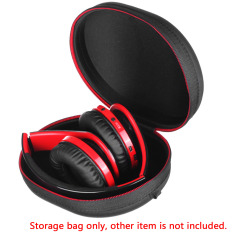 Portable Shock Resistant EVA Hard Headphone Storage Box Earbuds Bag Cases Headset Pouch Bag Holder Headphone Organizer Box
