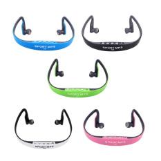 Portable Sport Wireless TF FM Radio Headset Headphone Earphone Music MP3 Player With Mini USB Port (Intl)