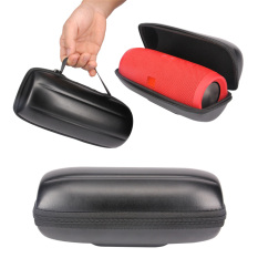 Portable Travel Carry Handle Hard Case Bag Holder Zipper Pouch For JBL Charge 3 Speaker In Black
