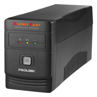 Prolink UPS Line Interaktif PRO700SFC - Super Fast Charging 650VA With AVR