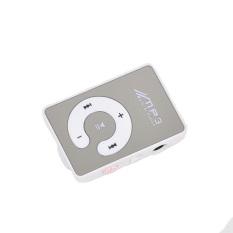 Promotion Sale Radio Fm Elegant Clip Sport Usb Micro For Sd Tf Mirror C Button Mp3 Music Media Playe (White)