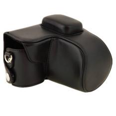 Protective PU Leather Case Bag For Samsung NX2000 Digital Camera Black (Intl)