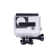 Protective Side Opening Skeleton Housing Case Cover For GoPro Camera Hero 4 3 + (Intl)