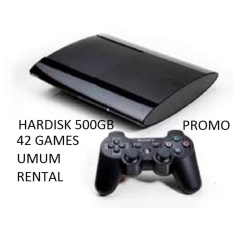 ps3 super slim 500gb, full games