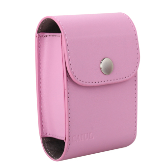 PU Collecting Films Case LENS Bag For Instax Mini 7.8 9.25 (Pink) - Intl