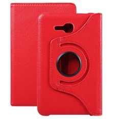 PU Leather 360 Degree Rotating Smart Folio Case for Samsung Galaxy Tab 3 Lite 7.0 T110 / T111 / T113 / T116 - intl