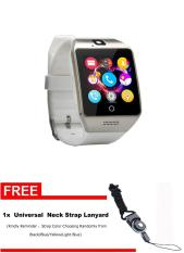 Q18s Bluetooth Smart Watch Support NFC SIM GSM Video CameraSupport Android / IOS Mobile Phone Pk GT08 GV18 U8 - Intl