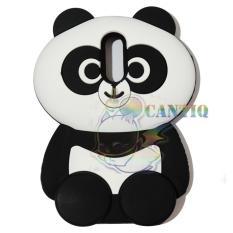 QCF Silicon Case 3D Untuk Xiaomi Redmi Note 4X Soft Back Jelly Case / Casing Panda