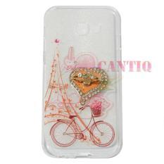 QCF Softcase Flower Samsung Galaxy J2 Prime Case Femininity u0026amp; Shine Swarovsky Holder Ring Softshell