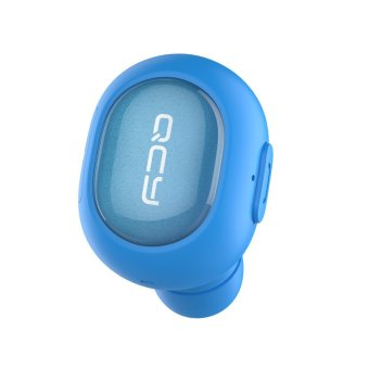 qcy q26 bluetooth noise cancelling wireless earbud blue