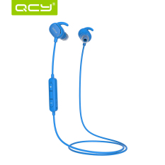 QCY QY19 Headphone In-Ear Stereo Sport Bluetooth V4.1 Sweatproof - Biru