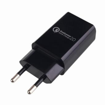Qualcomm Certified QC 2.0 USB Rapid Charger Adapter Quick Charge EUPlug - intl