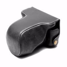 Rajawali Leather Case For Fujifilm X-A3 - Hitam