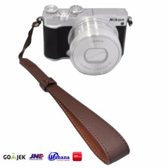 Rajawali Leather Wrist Strap For Camera-DSLR-Mirrorless-Pocket- Canon EOS M10