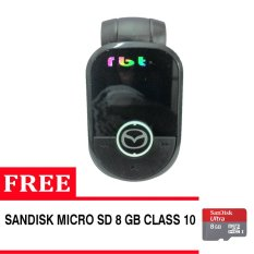 RBT CG-93 Car MP3 USB / TF Player WITH FM Modulator + Gratis Sandisk 8 Gb Class 10 High Quality - Hitam