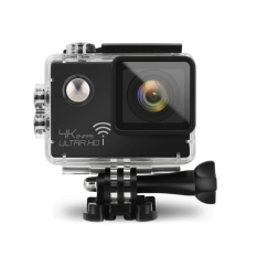 Real 4K 12.40M Pixel Wi-Fi COMS Sensor Sports &Action Camera for Diving Swimming - intl