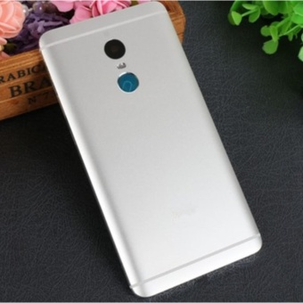 Rear Back Door Cover Housing + Flash Lens Cover Replacement RepairParts for Xiaomi Redmi Note 4 - intl
