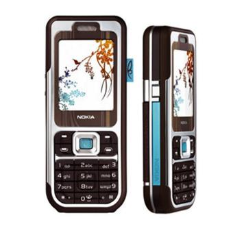 Refurbish Nokia 7360 - 4 MB - Cokelat