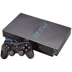 Refurbish Sony Playstation 2 Hardisk + 40 Giga + 50 Game + 2 Stik Getar - Grade A