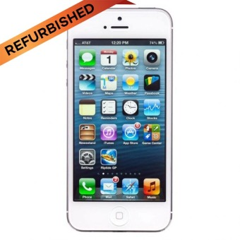 Refurbished Apple iPhone 5 - 32GB - Putih - Grade A