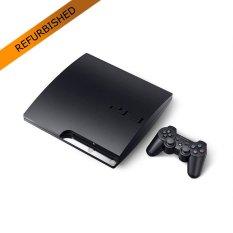 Refurbished Sony PS3 Slim - 160 GB - CFW E3 ODE COBRA + 500 GB Ext - Hitam - Grade A