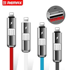 Remax 1M Dual Side USB/Heads Micro-USB IOS Mobile Phone Data Fast Charge