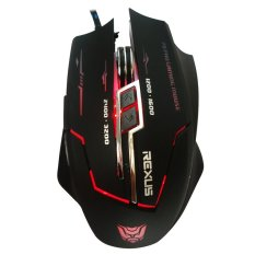 Rexus Elite Gaming Mouse USB XiERRA RXM-X3 7D + LED - Hitam