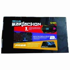 Rexus Warfaction VR1 GAMING KIT (Keyboard, Mouse, Mouse Pad)