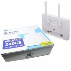 Router XL Home 4G LTE Huawei B310S - kuota 240 GB ( untuk 3 bulan)