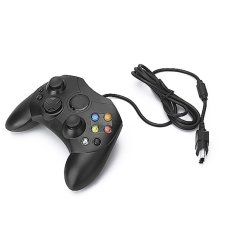 S & F Wired Game Controller For Microsoft Xbox - Black