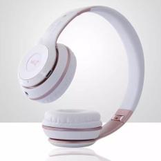 S480 Wireless Bluetooth Headphone Foldable 3D Surround (Pink)