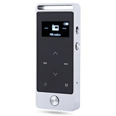 S5 Mini OLED 8GB Digital Voice Recorder Lossless HiFi Sound MP3 Audio Player E-book FM (Silver) - Intl