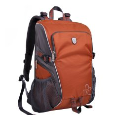 S6 Versatile Water-resistant Outdoor Sports Backpack Camera Shoulder Bag For Canon Nikon Sony Professional Photography (Orange) (Intl)