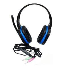 Sades Headset Gaming Extream Chopper SA-711 - Hitam / Biru