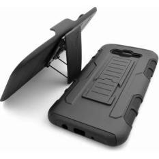 Samsung Galaxy J7 2015 Armor Hybrid Impact Case Belt Clip Holster Stand Hard .