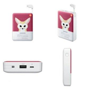 Samsung Powerbank Animal Real Capacity 8400mAh Original - Merah