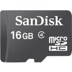 SanDisk Memori Card Original MICRO SD 16 GB class 4