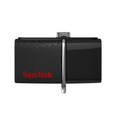 SanDisk Ultra 16GB USB 3.0 OTG Flash Drive With Micro USB Connector For Android Mobile Devices (Intl)