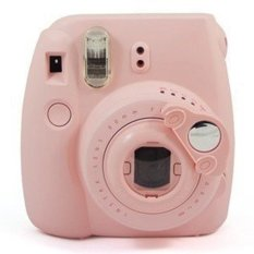 Sanwood Close Up Lens Self-portrait Mirror For Fujifilm Camera - Pink