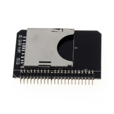 SD SDHC SDXC MMC Memory Card To IDE 2.5 Inch 44Pin Male Adapter Converter Black
